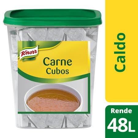 Knorr caldo cubos Carne 96 Cubos -