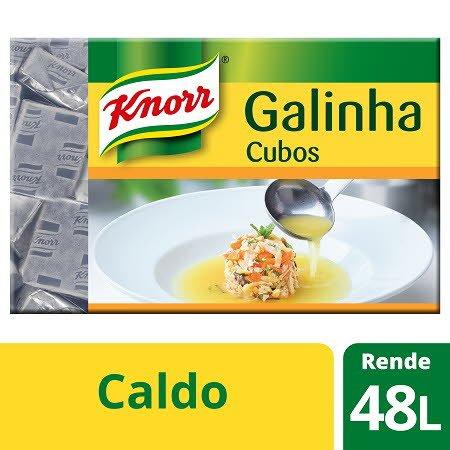 Knorr caldo cubos Galinha Cartão 96 Cubos -