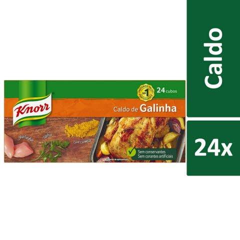 Knorr Caldo de Galinha 24 Cubos -