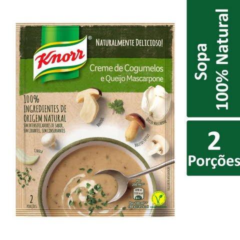 Knorr Creme de Cogumelos com Queijo Mascarpone -