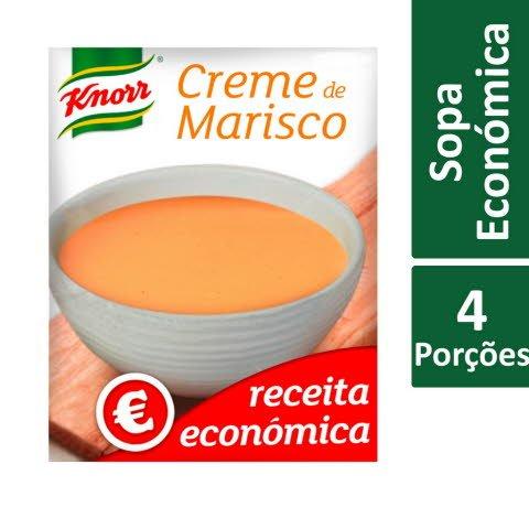 Knorr Creme de Marisco Receita Económica -