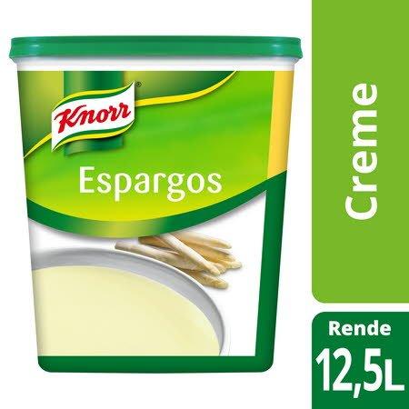 Knorr creme desidratado Espargos 875Gr -