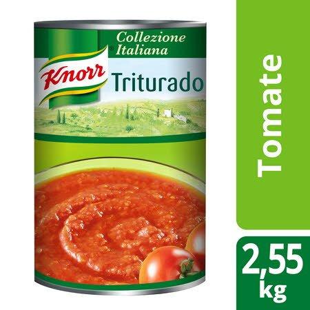 Knorr polpa de tomate Triturado Lata 2,55Kg -