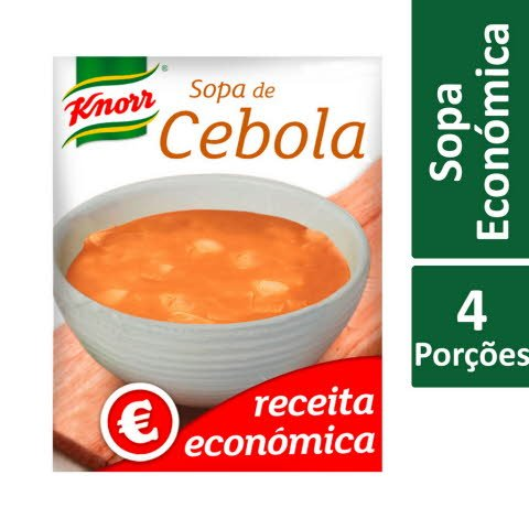 Knorr Sopa de Cebola Receita Económica -