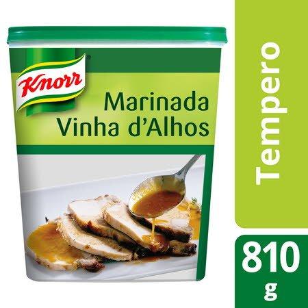 Knorr tempero desidratado Marinada Vinha d'Alhos 810 Gr -