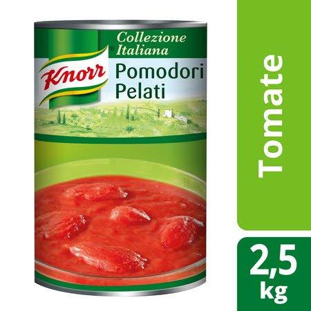 Knorr tomate Pelado Lata 2,5Kg