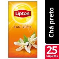 Lipton chá preto Earl Grey 25 Saq.