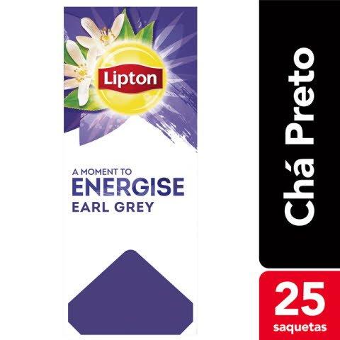 Lipton chá preto Earl Grey