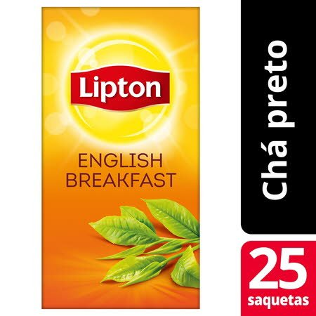 Lipton chá preto English Breakfast 25 Saq. -