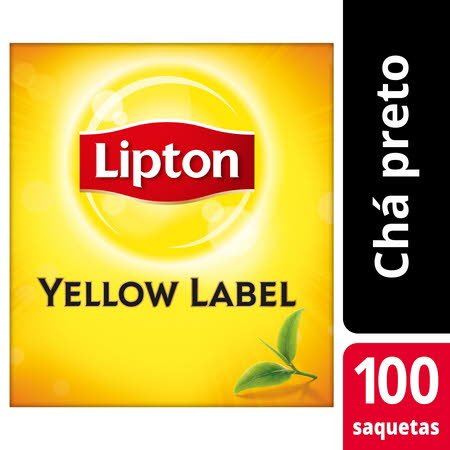 Lipton chá preto Yellow Label 100 saq.