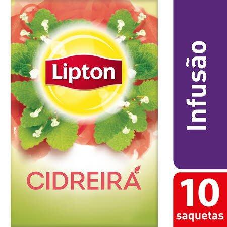 Lipton infusão Cidreira 10 Saq. -