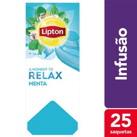 Lipton infusão Menta 25 Saq.