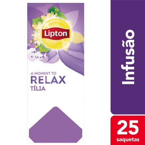 Lipton infusão Tília 25 Saq.