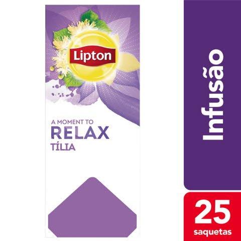 Lipton infusão Tília