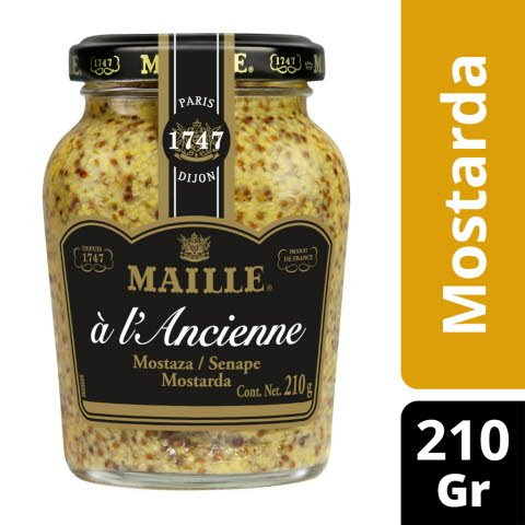 Maille mostarda à L'Ancienne 210Gr -