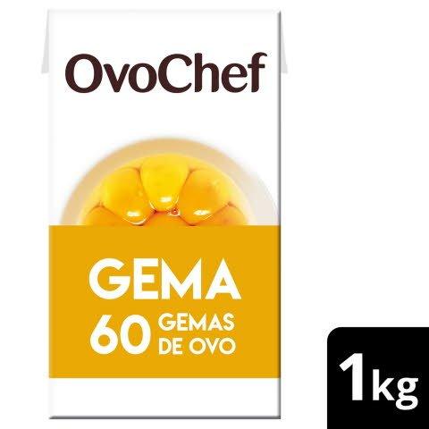 OvoChef ovo líquido pasteurizado Gema 1kg -