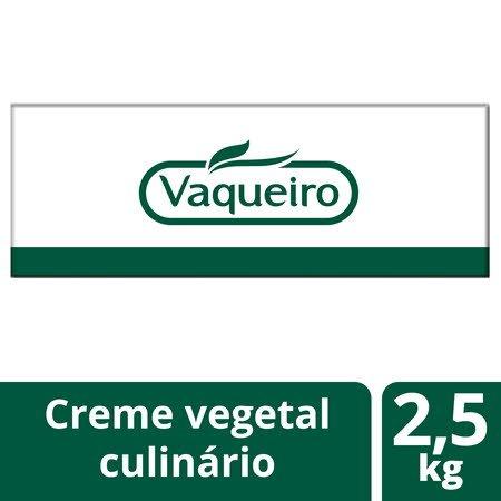 Vaqueiro creme vegetal culinário e fritura rasa 2,5Kg