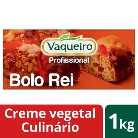 Vaqueiro Profissional creme vegetal culinário Bolo Rei 1Kg -