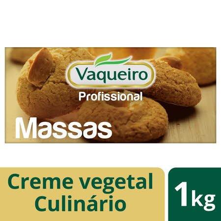 Vaqueiro Profissional creme vegetal culinário Massas 1Kg
