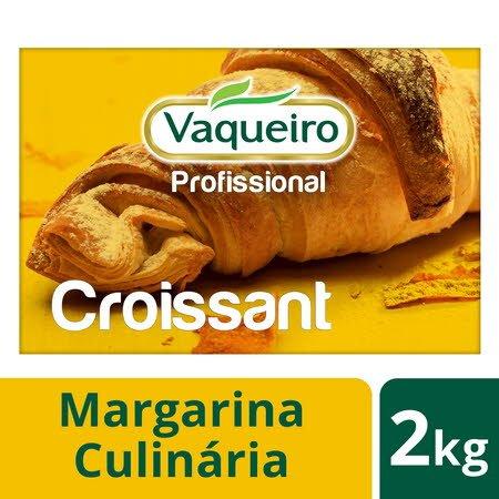 Vaqueiro Profissional margarina culinária Croissant 2 Kg