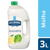 Hellmann's molho para saladas Iogurte 3Lt