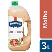 Hellmann's molho para saladas Mil Ilhas 3Lt