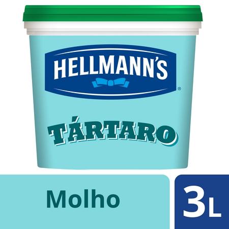 Hellmann's molho Tártaro 3Lt