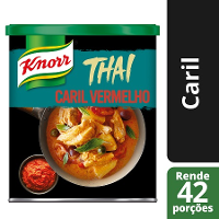 Knorr Caril Pasta Vermelho 850Gr