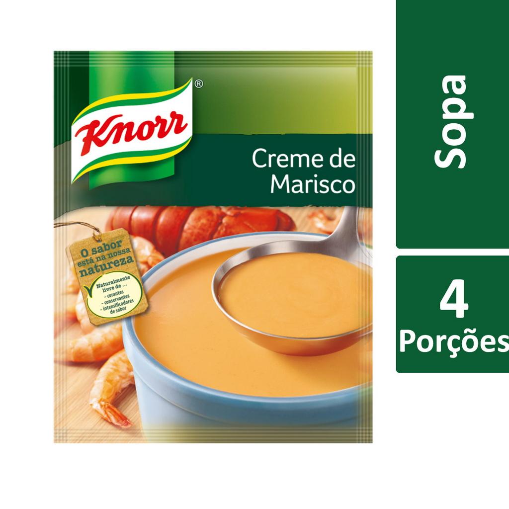 Knorr creme desidratado Marisco 72 Gr - Knorr Creme de Marisco é o seu braço direito - a cor, textura e sabor do marisco, em 5 minutos.