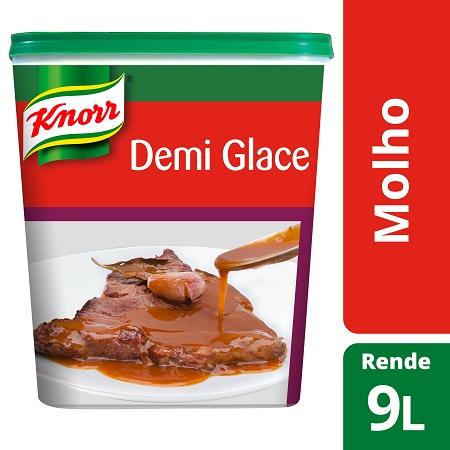 Knorr molho desidratado Demi Glace 900Gr - O nosso Demi Glace é a base perfeita para todos os molhos de bifes e outras carnes.