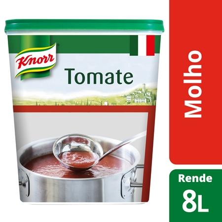 Knorr molho desidratado Tomate 875Gr - O Poder do Desidratado
