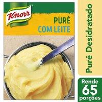 Knorr puré desidratado Batata 2Kg - O nosso puré dá-lhe o resultado genuíno, com batata de origem 100% sustentável.