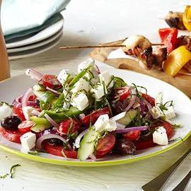 Salada Montanheira com Queijo Feta