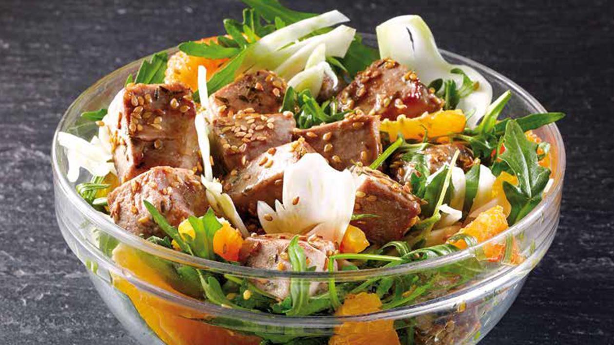 Salada Colorida de Atum