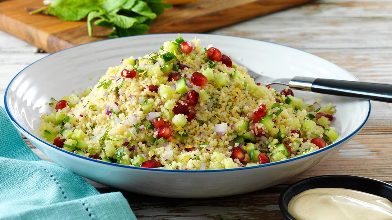 Salada de Couscous com romã