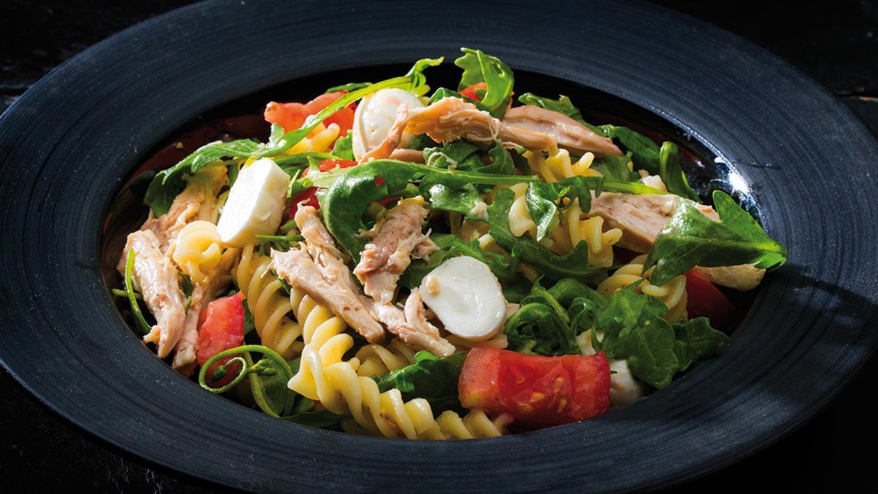 Salada de Fusilli com Atum e Rúcula