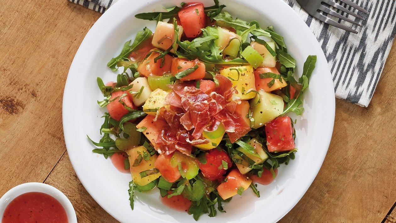 Salada de Presunto com Fruta
