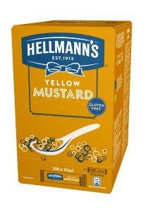 Hellmann's Mustar portionat 10 ml