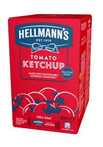 Hellmann's Tomato Ketchup portionat 10 ml