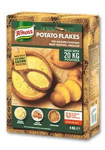 Knorr Fulgi de cartofi 4 kg