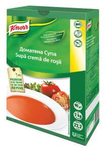 Knorr Supa crema de rosii