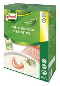 Knorr Supa Crema somon si creveti -