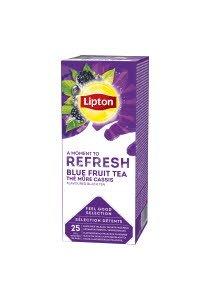 Lipton Ceai Negru cu Fructe albastre 25 plicuri