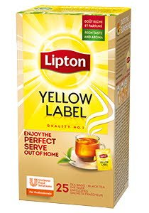 Lipton Classic Yellow Label 25 plicuri