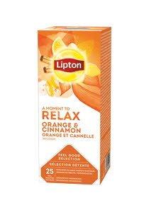 Lipton Infuzie Portocale si Scortisoara 25 plicuri