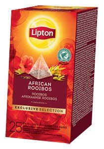 Lipton Piramida Rooibois 25 plicuri