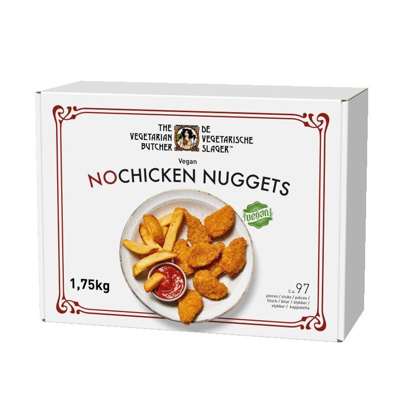 NoChicken Nuggets  1.75 kg - Proteine din plante cu gustul si textura carnii