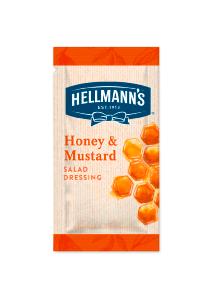 Hellmann's Dressing Salata Miere si mustar 30 ml - Am nevoie de dressinguri pentru salata, gata preparate si portionate, de calitate si potrivite pentru salatele comandate la pachet.