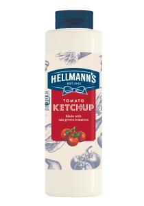 "Hellmann's Ketchup 856 ml - Sosurile ""One Hand"" de la Hellmann's, alegerea mea pentru preparatele Street Food."