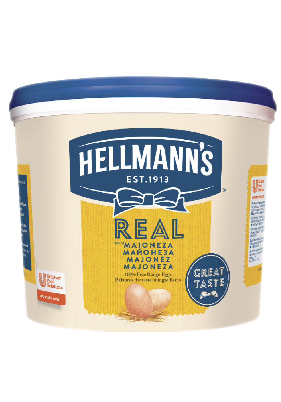 Hellmann's Maioneza Real 5 kg - Retetele au nevoie de sosuri cu o consistenta potrivita.